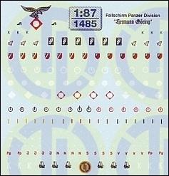Fallschirm Panzerdivision »HG« 1:87