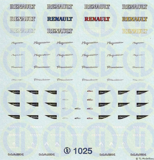 Renault Magnum und Premium FH Dekor 1:87
