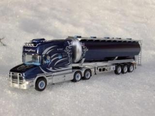 Scania Longline Fahrerhaus Dekor 1:87
