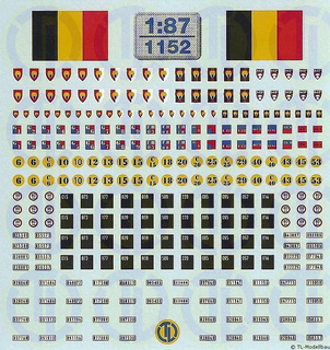 Königreich Belgien - Heer 1:87
