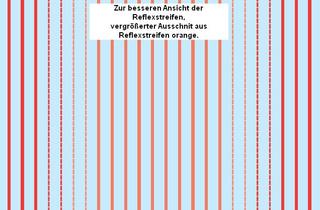 Lkw-Reflexstreifen, rot 1:87