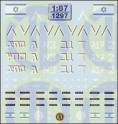 Israel »IDF« 1:87