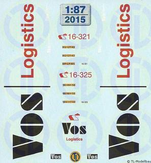 Vos Logistics, Niederlande 1:87