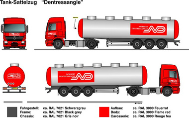 ND - Norbert Dentressangle 1:87