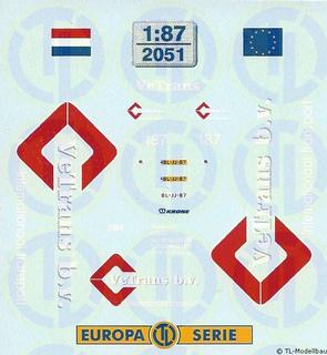 Vetrans, Niederlande 1:87