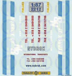 Nybrok Oy, Finnland 1:87
