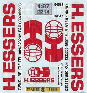 H. Essers Beschriftungen 1:87