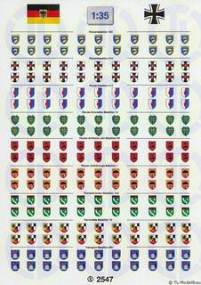 Bundeswehr »Heer« Verbandsabzeichen 1:35
