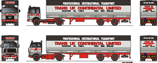 Continental Limited Trans UK 1:87