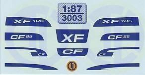 DAF XF105 und CF85 Dekore 1:87