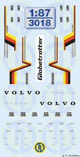 Volvo Globetrotter FH-Dekor 1:87