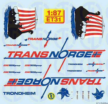 EUROTRANS-GROUP - TRANS-NORGE 1:87