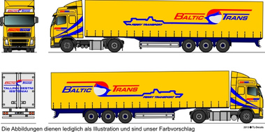 EUROTRANS Gruppe - Baltic Trans 1:87