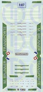 Brunner Transporte, Schweiz 1:87