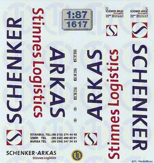 Schenker Arkas Stinnes Logistics 1:87