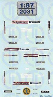 Hegmann Transit, Sonsbek 1:87
