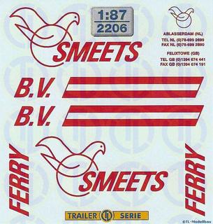 Smeets Ferry B.V. Beschriftungen !:87
