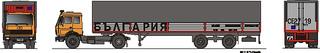 Bulgaria Int. Autotransport - BG 1:87