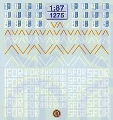 IFOR/SFOR Decalbogen 1:87