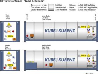 Kube & Kubenz Beschriftungen 1:87