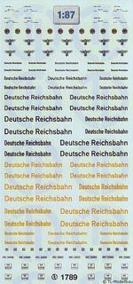 Deutsche Reichsbahn - Straßenfahrzeuge 1:87