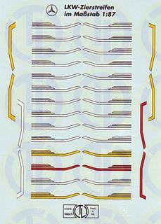 MB Fahrerhaus Dekor 1:87