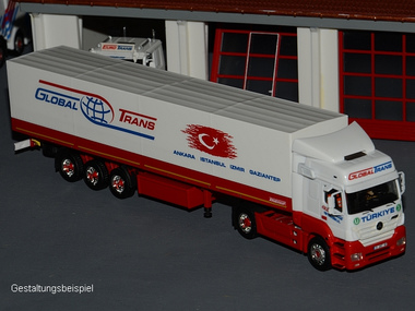EUROTRANS Gruppe - Global Trans 1:87