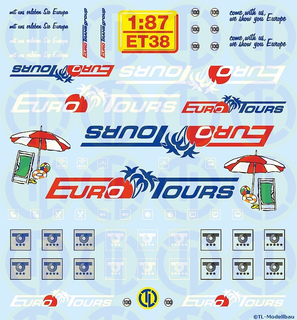 EURO-TOURS 1:87