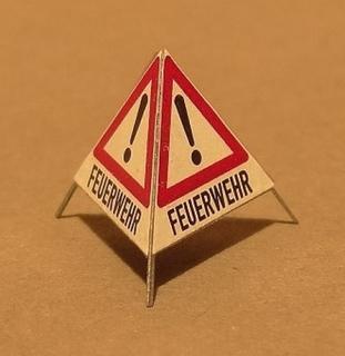 Feuerwehr-Einsatz - Beschriftungen1:87