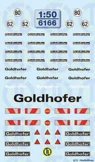 Goldhofer Beschriftungen 1:50