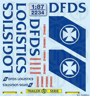 2238 Decals DSV Daily Pallet 1:87