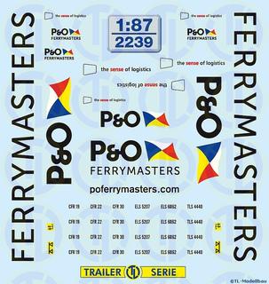 P&O Ferrymasters 1:87
