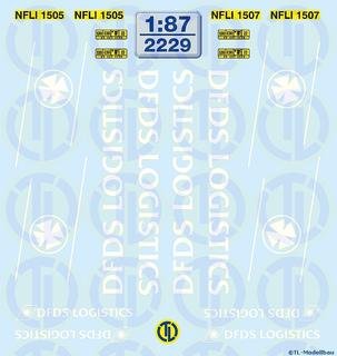 DFDS Logistics 1:87