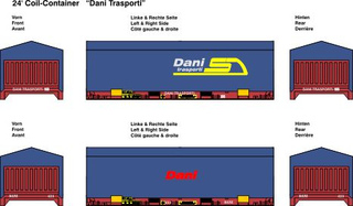 24 ft. Coil Container - Dani 1:87
