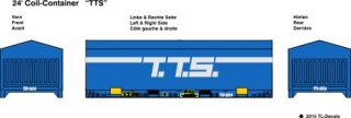 24 ft. Coil Container - T.T.S. 1:87