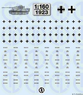 Wehrmacht Beschriftungen 1:160