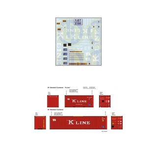 K-Line Beschriftungen 1:87