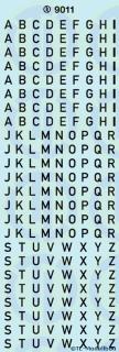 Grossbuchstaben 4 mm Weiss