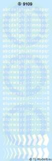 Kleinbuchstaben 3 mm