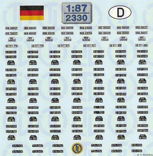 Deutsche Kfz-Kennzeichen 1945-1956