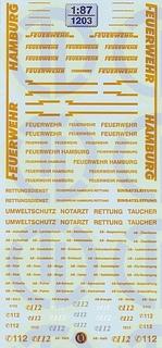 Feuerwehr Hamburg 1:87