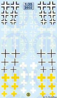 WK II - Balkenkreuz-Varianten 1:87