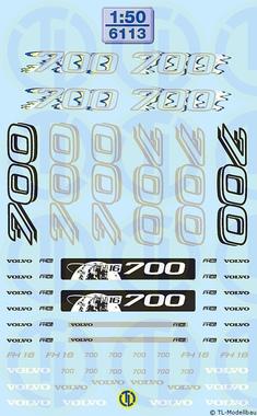 Volvo-FH Dekore 1:50
