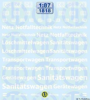 DB Netz Notfalltechnik 1:87
