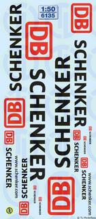 DB Schenker Beschriftungen 1:50