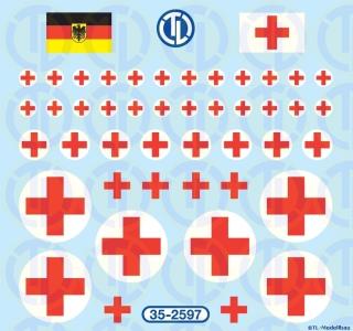 Bundeswehr Sanka Kreuze 1:35