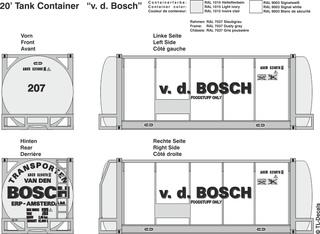v. D. Bosch Beschriftungen 1:87