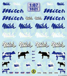 Milch-Decalbogen 1:87