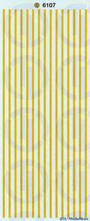 Gelbe Warnstreifen 1:50