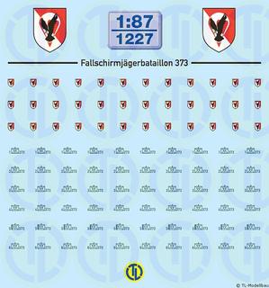 BW - Fallschirmjäger Btl. 373 - 1:87